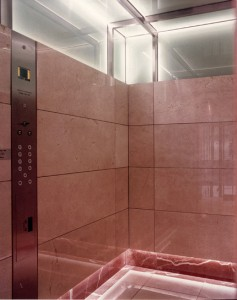 Lift interior refurbishment